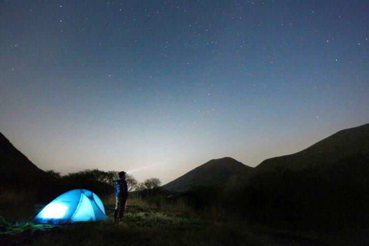 SIESTA2 Zelt in der Wüste