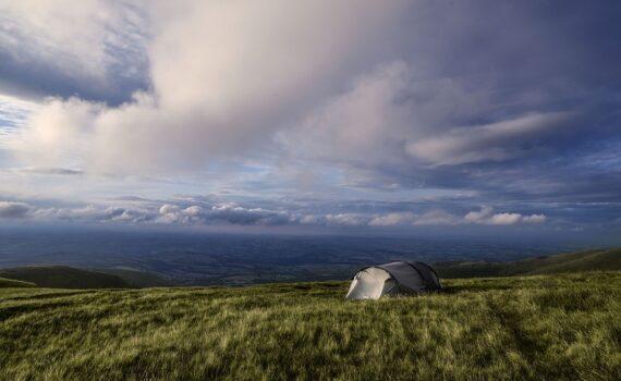 Zelt für Fahrradtour Test